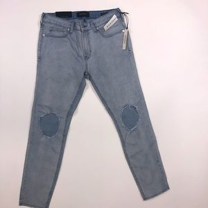 PacSun skinniest cropped indigo jeans